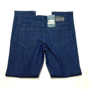 Perry Ellis Portfolio Slim Straight Leg Jeans